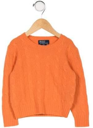 Ralph Lauren Kids' Cashmere Knit Sweater