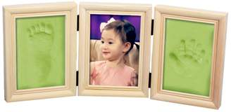 Keepsake BabyIn Deluxe Casting Kit for Baby Handprint or Footprint with Quality Wood Frame