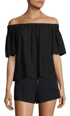 A.L.C. Cheyenne Off-The-Shoulder Top