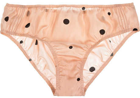 Marni Polka-dot silk-satin briefs
