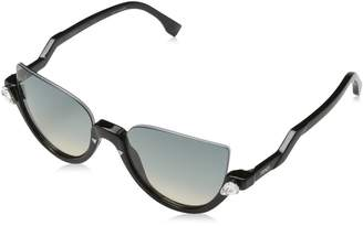 Fendi Blink Cateye Sunglasses in Shiny Black FF 0138/S 29A