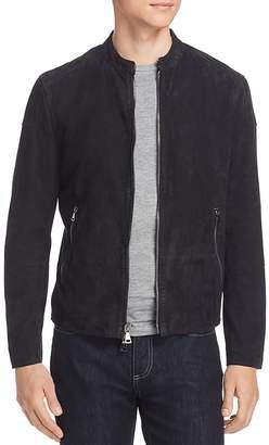 John Varvatos Collection Suede Moto Jacket