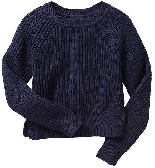 Gap Cropped marl sweater