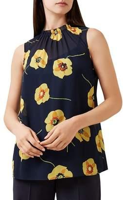 Hobbs London Faye Floral Print Top