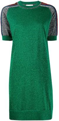 Gucci metallic T-shirt dress