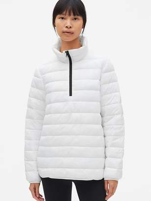 Gap GapFit Lightweight Half-Zip Puffer Jacket