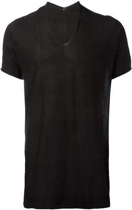 Label Under Construction longline T-shirt