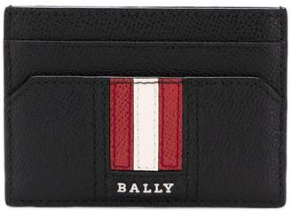 Bally logo stripe cardholder