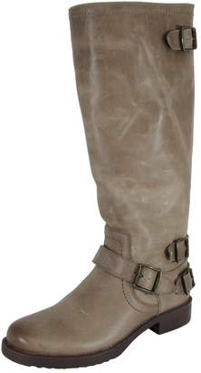 Arturo Chiang Women Ella Leather Riding Boot Shoe