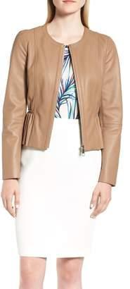 BOSS Sahota Leather Jacket