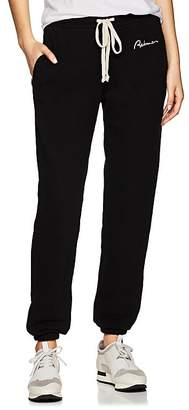 RE/DONE Women's Embroidered Cotton French Terry Sweatpants