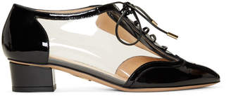 Charlotte Olympia Black Patent Erroll Brogue Heels