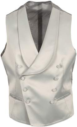 Tagliatore Gilet Satin Double-breasted