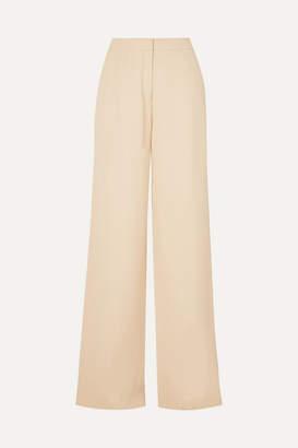 ARJÉ - Woven Wide-leg Pants - Cream
