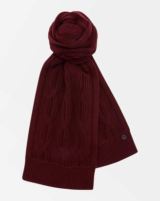 Ted Baker FOSCARF Cable knit scarf
