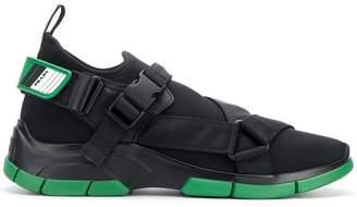 Prada buckle sneakers