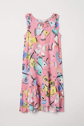 H&M Dress with Printed Pattern - Pink