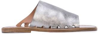 Silvano Sassetti open toe loafers
