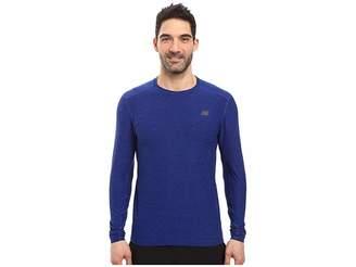 New Balance Transit Long Sleeve Top Men's Long Sleeve Pullover