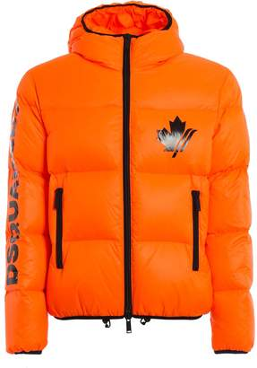 DSQUARED2 Nylon Ripstop Down Jacket