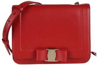Salvatore Ferragamo Vara Bow-detailed Shoulder Bag