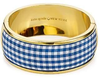 Kate Spade Striped Bangle Bracelet