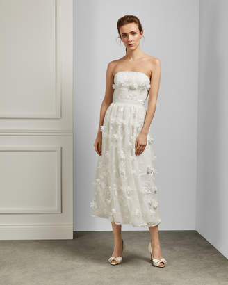 Ted Baker WITTNY Strapless 3D lace bridal gown