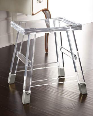 Interlude Home Darnell Acrylic Vanity Seat
