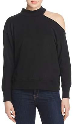 Elan International One-Shoulder Sweatshirt