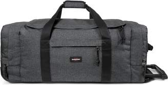 Eastpak Leatherface Black Denim Wheeled Duffle Large