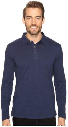 Mod-o-doc Salt Point Long Sleeve Slub Jersey Polo Men's Long Sleeve Pullover