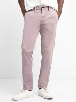 Gap Vintage Wash Khakis in Slim Fit with GapFlex