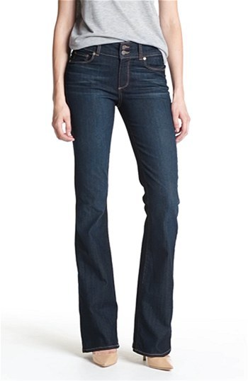 Paige 'Hidden Hills' High Rise Bootcut Stretch Jeans (Stream)