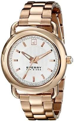 Sperry Women's 10014925 Hayden Analog Display Japanese Quartz Rose Gold Watch