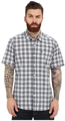 Quiksilver Everyday Check Short Sleeve Woven Top $44 thestylecure.com