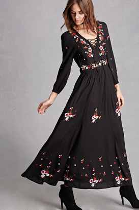 FOREVER 21+ RD & KoKo Embroidered Dress $65 thestylecure.com