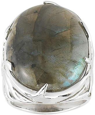 JCPenney FINE JEWELRY Labradorite Bold Oval Ring