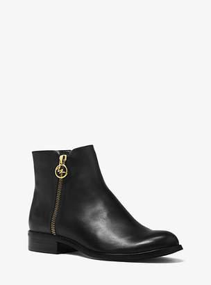 Michael Kors Jaycie Leather Ankle Boot