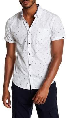 Coastal Printed Wheeldot Modern Fit Shirt