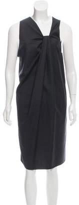 Hache Wool Knee-Length Dress