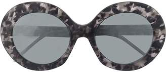 Thom Browne Eyewear retro tortoise shell sunglasses