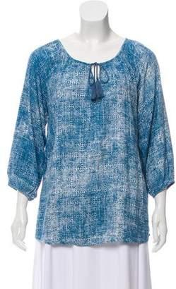 Soft Joie Printed Long Sleeve Top