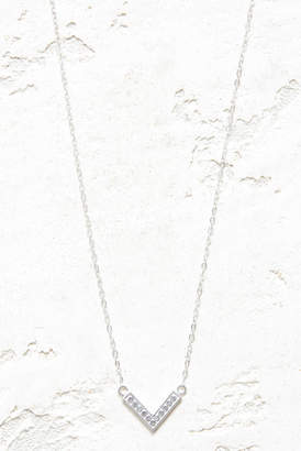 f35cfc26ca46 Anna Beck Silver Reversible Mini Arrow Necklace