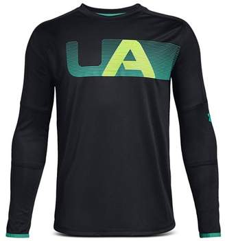 Under Armour Boys' Long-Sleeve Active Tech Tee - Big Kid