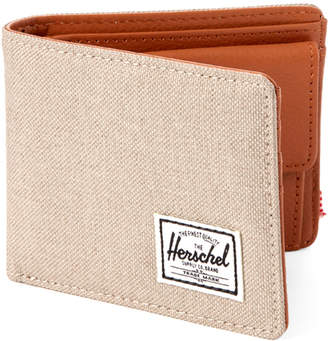 Herschel Light Khaki Hank Coin Pocket Wallet
