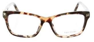 Valentino Rockstud Tortoiseshell Eyeglasses