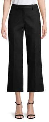 Calvin Klein Collection Cropped Cotton Pants