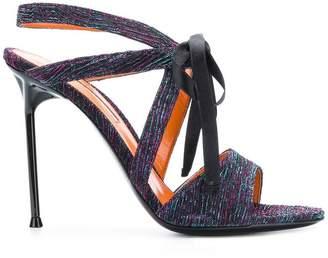 Walter De Silva Rita ribbon tie sandals