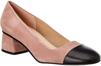 French Sole Dolly Suede Pump