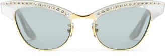 Gucci Optyl and metal sunglasses